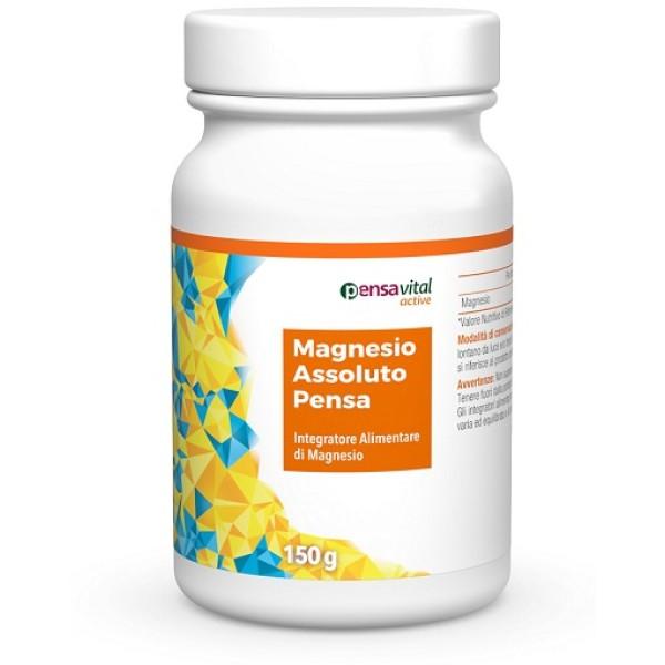Magnesio Assoluto Pensa 150 grammi - Integratore Alimentare