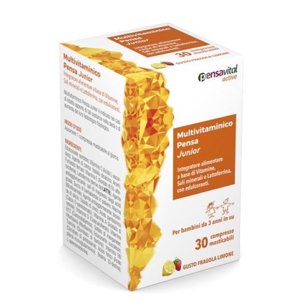 Multivitaminico Junior Pensa 30 Compresse - Integratore Vitamine e Minerali
