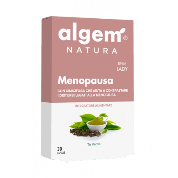 Algem Lady Menopausa 30 Capsule - Integratore Alimentare