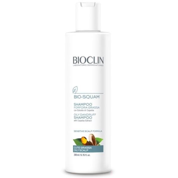 Bioclin Bio Squam Shampoo Forfora Grassa e Cute Sensibile 200ml