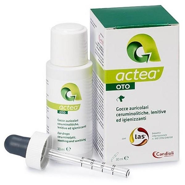 Actea Oto Emulsione Gocce Auricolari Veterinarie 30 ml