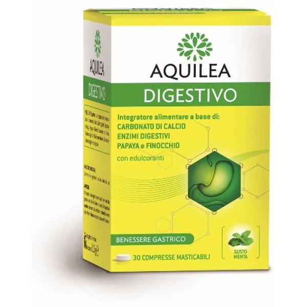 Aquilea Digestivo 30 Compresse - Integratore Alimentare