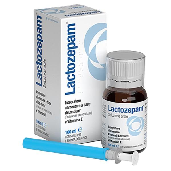 Lactozepam Integratore Alimentare Soluzione Orale 100ml