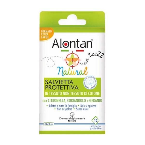 Alontan Natural Salviette Protettive 12 Pezzi