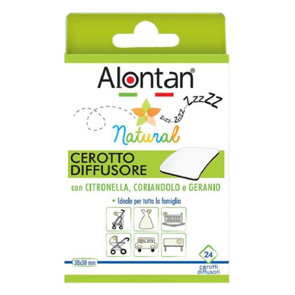 Alontan Natural Cerotto Antizanzare 24 Pezzi