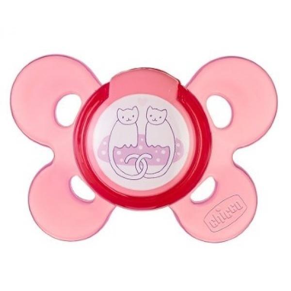 Chicco Succhietto Air Silicone Girl 6 - 12 mesi 2 pezzi