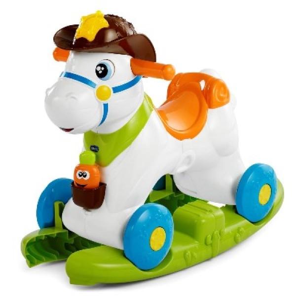 Chicco Gioco Baby Rodeo Cavallo a Dondolo 1 - 3 anni