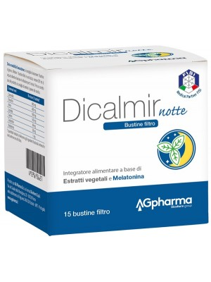 Dicalmir Notte  15 Bustine - Integratore Digestivo e Rilassante