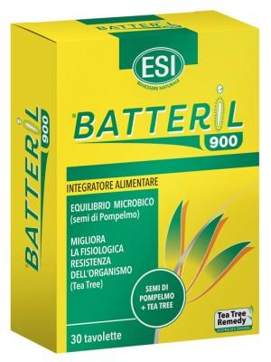 Esi Tea Tree Batteril 900  30 Ovalette - Integratore Difese Immunitarie