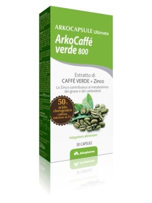 ArkoCaffe' Verde 800  30 Capsule - Integratore Antiossidante