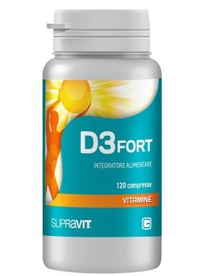 D3 Fort 120 Compresse - Integratore Vitamina D