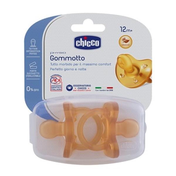 Chicco Physio Soft Gommotto Ciuccio in Caucciù 16 - 36 mesi