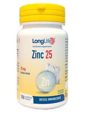 Longlife Zinc 100 Compresse - Integratore Zinco