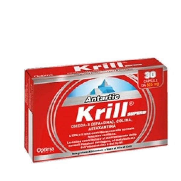 Optima Antartic Krill Superb 30 Capsule - Integratore di Acidi Grassi