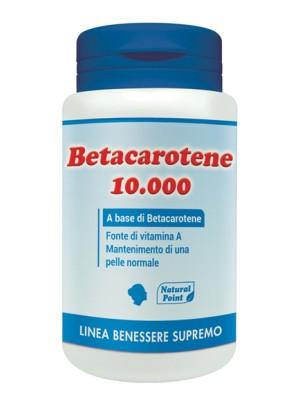 Natural Point Betacarotene 10000 Integratore Alimentare 80 perle