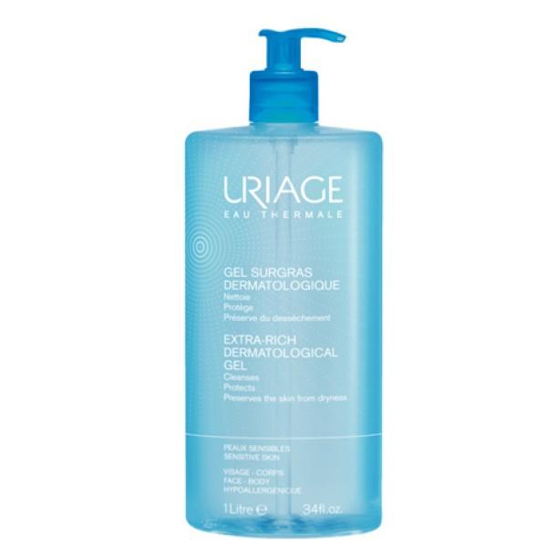 Uriage Eau Thermale Gel Surgras Dermatologico Detergente Pelle Sensibile 1000 ml