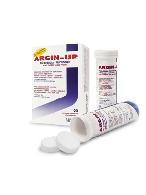 Argin-Up 20 Compresse Effervescenti - Integratore Alimentare