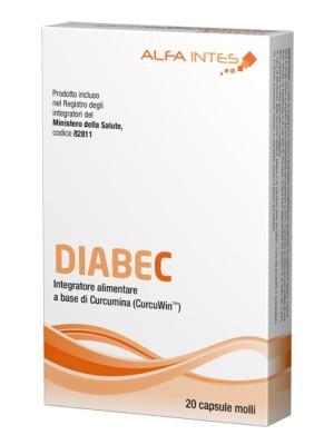 Diabec 20 Capsule Molli - Integratore Antiossidante
