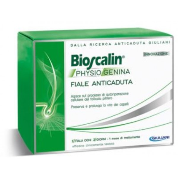 Bioscalin Physiogenina Trattamento Anticaduta Uomo e Donna 10 Fiale