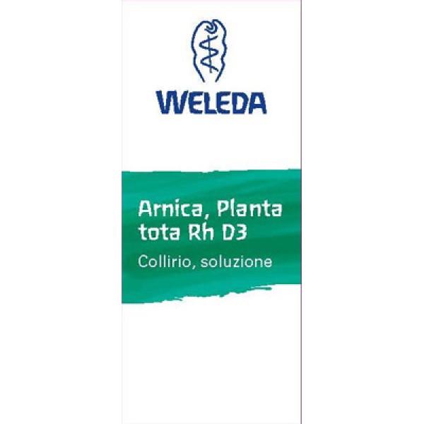 Weleda Arnica Planta Tota Rh D3 Collirio 10 ml - Medicinale Omeopatico