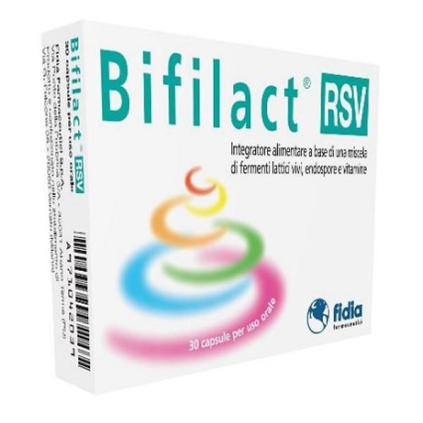 Bifilact RSV Integratore Fermenti Lattici Vivi 30 Compresse