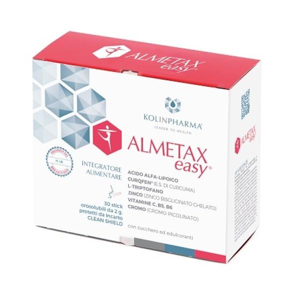 Almetax Easy Integratore 30 Bustine Orosolubili