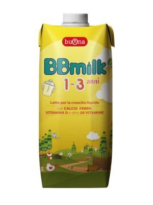 BB Milk 1-3 Anni Latte Liquido 500 ml