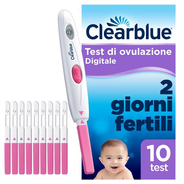 Clearblue Test Ovulazione Digitale 10 Stick