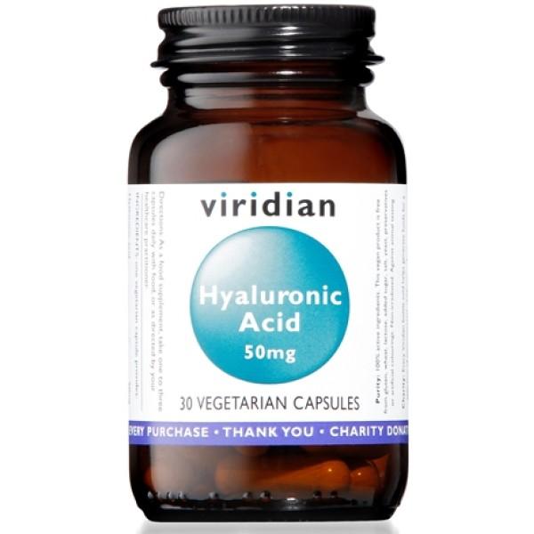 Natur Viridian Hyal Acid 30 Capsule - Integratore Alimentare