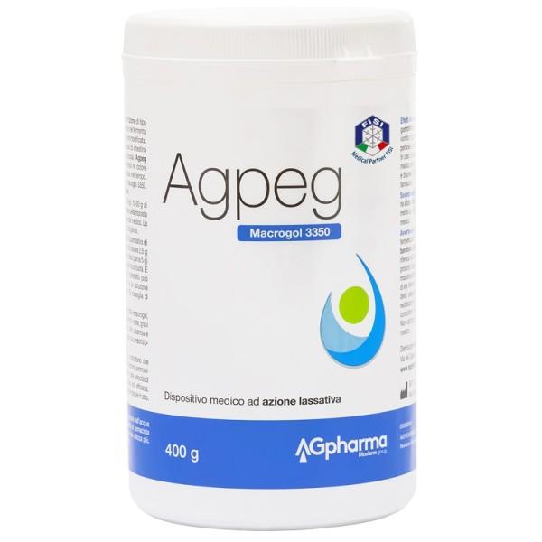 Agpeg Magrocol 3350 Polvere 400 grammi - Integratore Lassativo