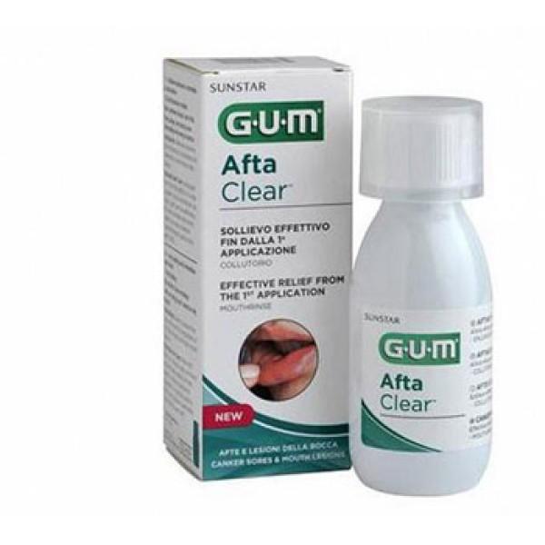 Gum AftaClear Collutorio Trattamento Antiafte 120 ml