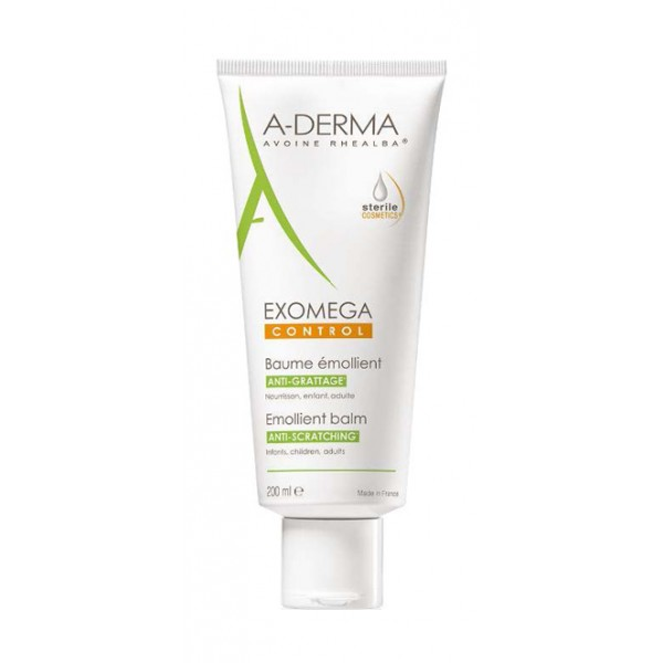 A-Derma Exomega Control Balsamo Emolliente Sterile Anti-Grattage 200 ml