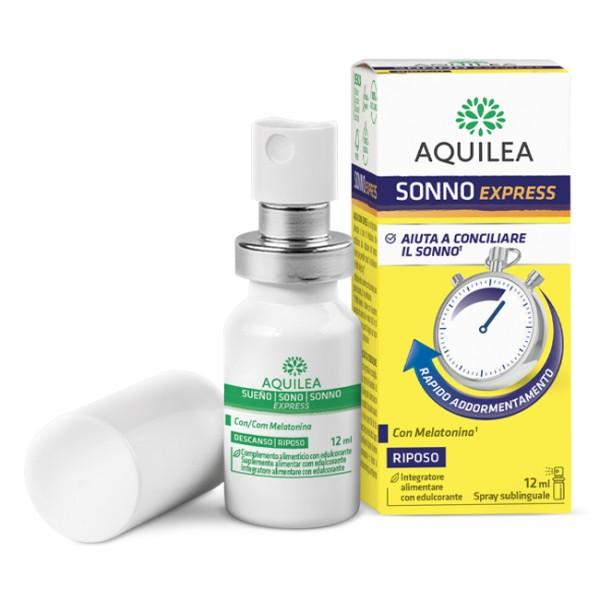 Aquilea Sonno Express Spray 12 ml - Integratore per il Riposo
