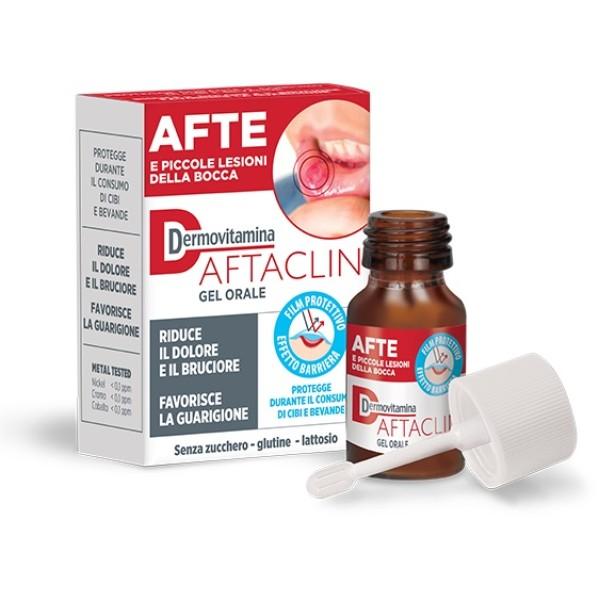 DermoVitamina Aftaclin Gel Orale Antiafte 7 ml