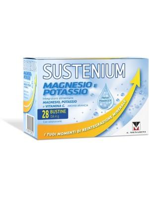 Sustenium Magnesio e Potassio Integratore 28 Buste