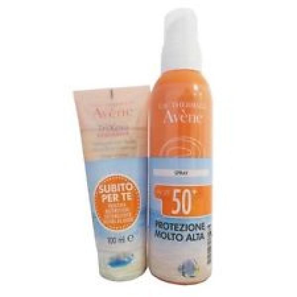 Avene Solare Spray Corpo 50+ 200 ml + Trixera Detergente 75 ml