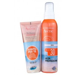Avene Spray Corpo 30+ 200ml + Trixera Detergente 75ml