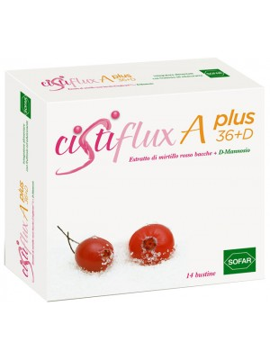 Cistiflux A Plus 36+D Integratore Alimentare Vie Urinarie 14 Bustine
