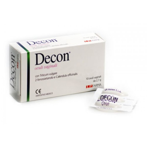 DECON 10OV VAGINALI