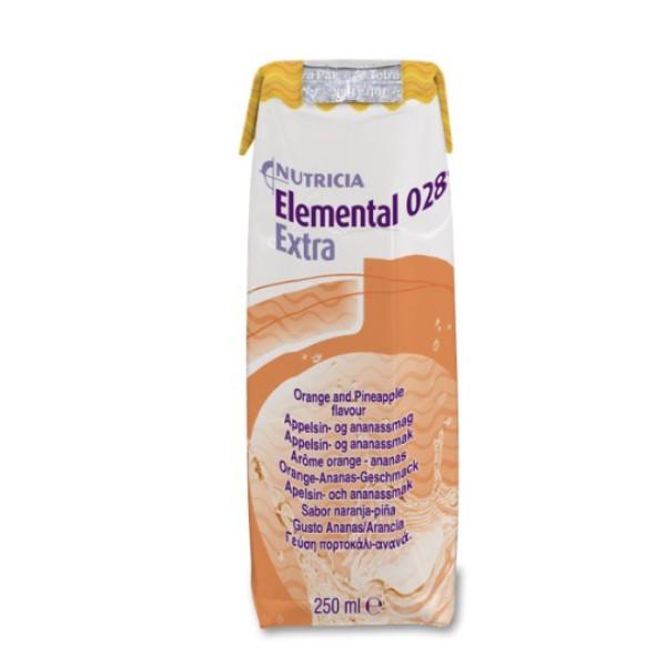 Elemental 028 Extra Ananas/Arancia 18 x 250 ml