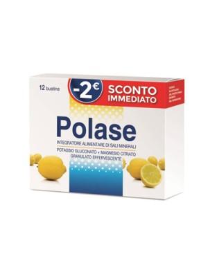 Polase 12 Buste Limone - Integratore Multivitaminico