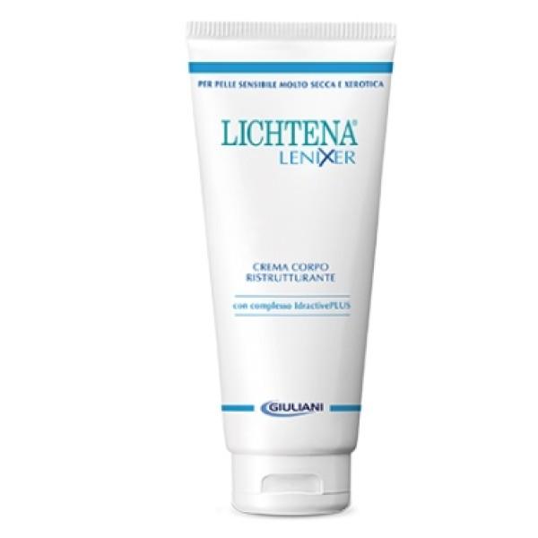 Lichtena Lenixer Crema Corpo Ristrutturante Pelle Secca 350ml