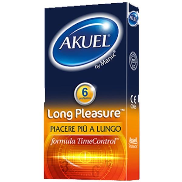 Akuel Long Pleasure 6 Profilattici Ritardanti