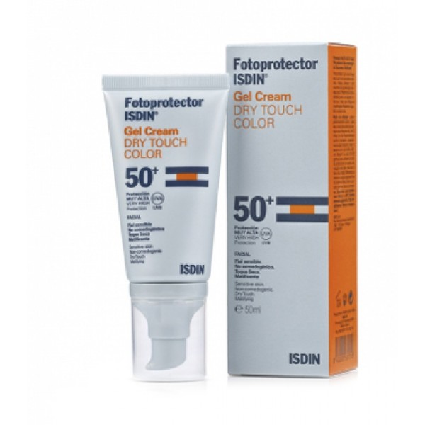 Isdin Fotoprotector Dry Touch Color SPF 50+ Crema Solare 50 ml