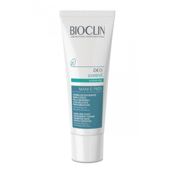 Bioclin Deo Control Crema Mani e Piedi Ipersudorazione 30ml