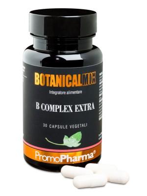 Botanical Mix B-Complex Extra 30 Capsule PromoPharma - Integratore Stanchezza e Affaticamento