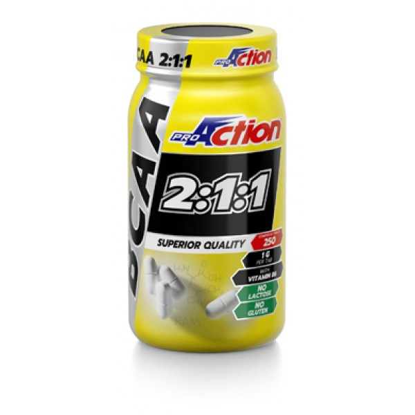 PROACTION BCAA Gold 250Cpr 211