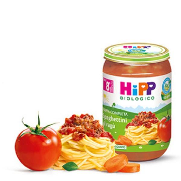 Hipp Bio Pappa Pronta Spaghettini al Ragu' 220 grammi