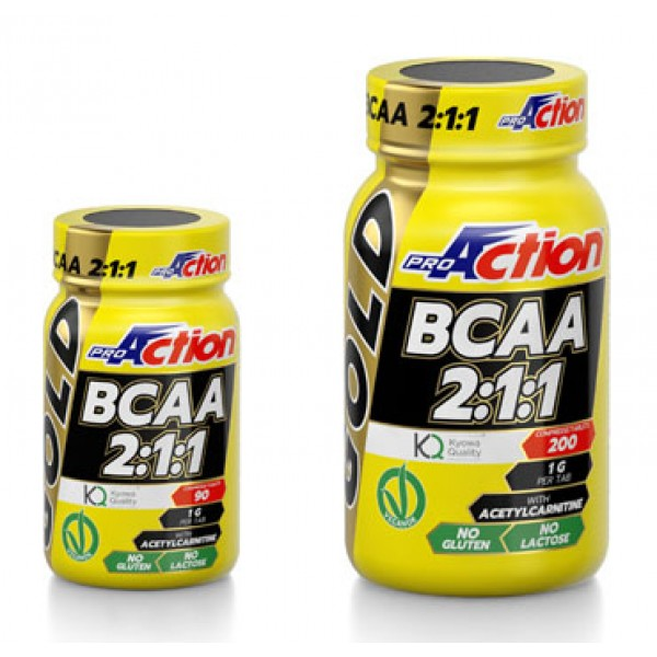 PROACTION BCAA Gold  90Cpr 211
