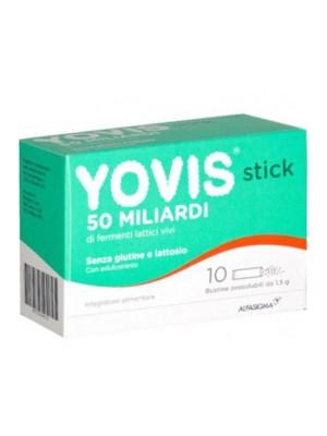 Yovis Stick Integratore Alimentare Fermenti Lattici 10 Bustine